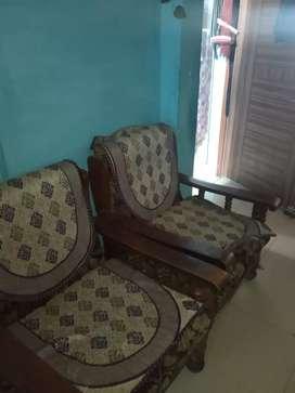 Sofa set  and window ac 2 ton carrier