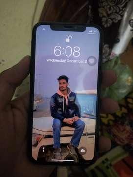 Iphone x  256 GB  Grey colour