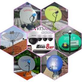 Teknisi profesional pasang servis parabola,cctv,anten tv bebas bulanan