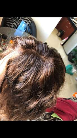 Humn hair 100% - wig for sale - 3-4 times used only