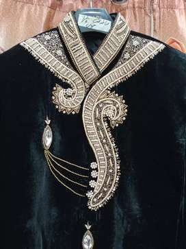 Two beautiful sherwani one time used for.urgent sale