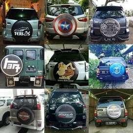 Cover/Sarung Ban Terios/Jeep/Suzuki Vitara/Rush/Impian tampil beda dar