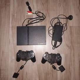 SONY PS2 PS 2 PS SLIM BEKAS MURMER LENGKAP FULLSET