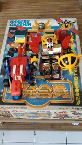 Mainan Robot Ippatsu Gasshin