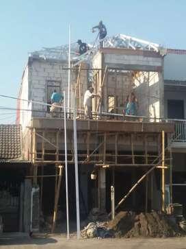 Pagar canopi rangka atap galvalum kencana asli