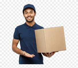 Huge Opening For Delivery Boy In Vadodara Karelibagh Location.