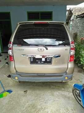 Mobil avanza 2008 type G mulus perawatan unit di wonosobo