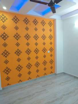 individual 2bhk floor freehold with home loan facility by bank