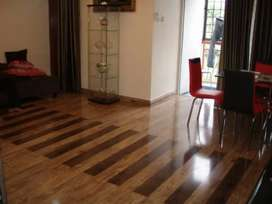 Vinyl floor with different types or colours available.