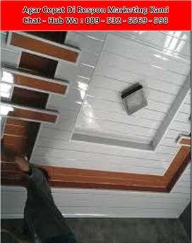 Pasang Khusus Plafon - Partisi Gypsum / PVC + Kusen Jendela Alumunium