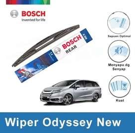 Wiper Kaca Belakang, BOSCH Rear Wiper Honda Odyssey Include Pasang