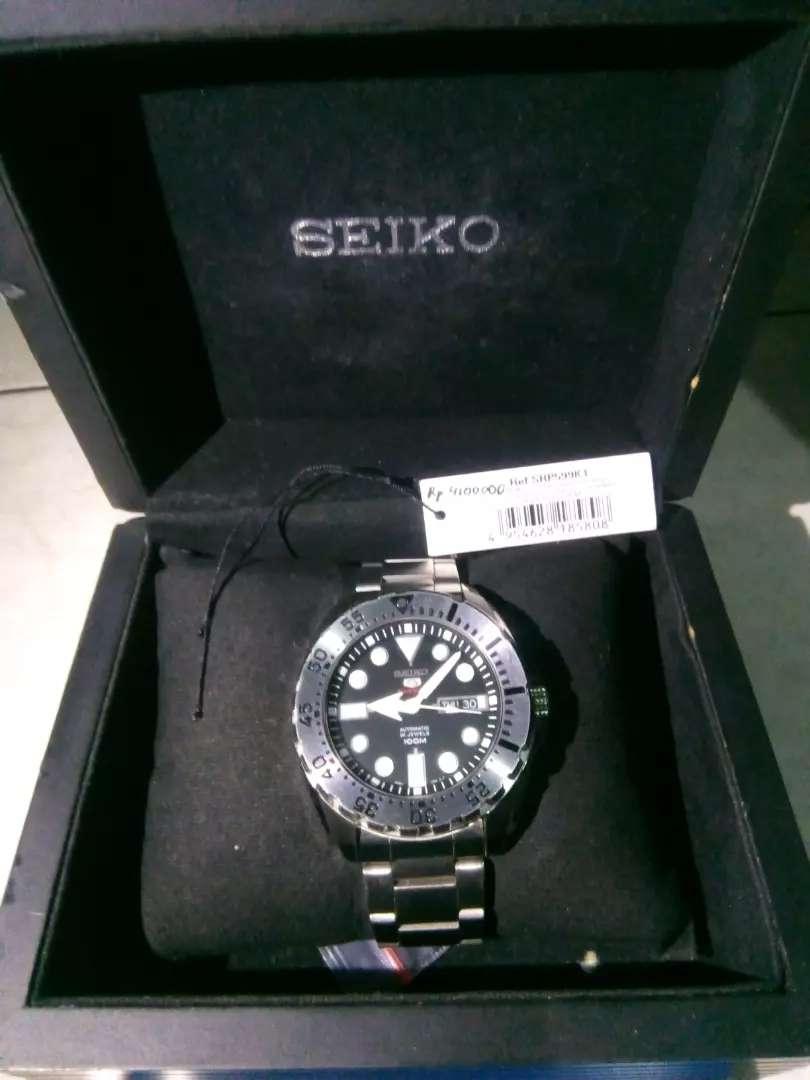Seiko 5 Sports 4R36A. Automatic Hand-Winding. Original Japan