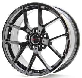 pelek racing model Biefeld HSR Ring 17x75 H5x112 buat chairman
