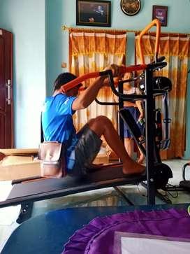 Treadmill Manual 5 fungsi  ab