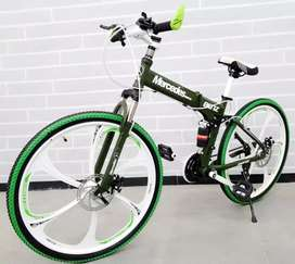 New FOLDABLE CYCLE with alloy wheels
