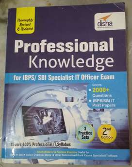 Professional Knowledge book for IBPS/SBI computer/IT/SO exam