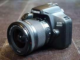 HCI - Kredit Canon 4000D Tanpa Dp Gratis 1X Angsuran dn Full Bonus