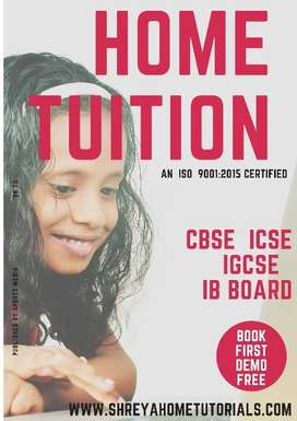 home tutor for physics and chemistry for female
