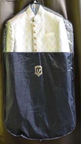 Manyavar Sherwani with Pyjama- Size 38 (M)