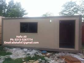 Porta cabin container office mobile cafe prefab house gurad cabins