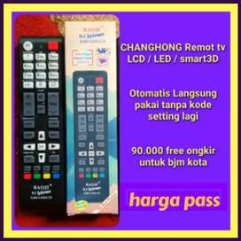 Remot tv changhong led/lcd baru