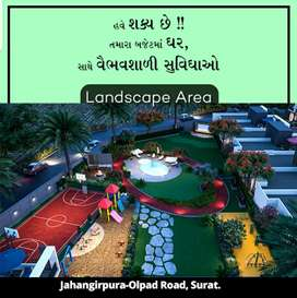 Book 1 BHK Row House with 51,000 token amount  at Olpad Masma Road