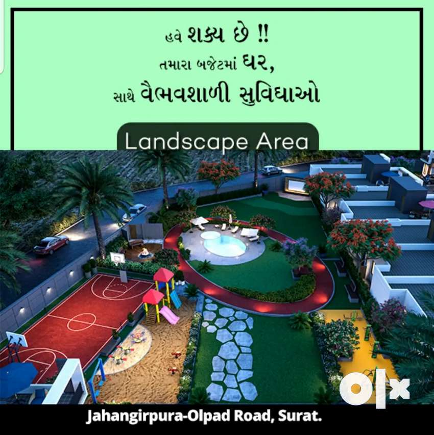 Book 1 BHK Row House with 51,000 token amount  at Olpad Masma Road 0