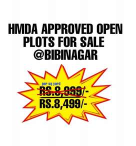 HMDA APPROVED RESIDENTIAL PLOTS FOR SALE