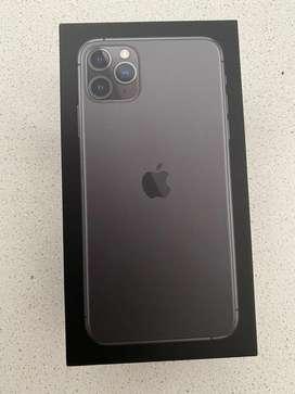 phone 11 pro max 512gb PHYSICAL DUAL SIM. Full box with warranty
