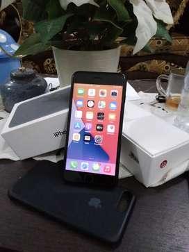Iphone 7+,128gb warna hitam