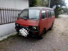 Daihatsu hijet merah