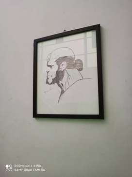 Hand made sketches.for wall decoration