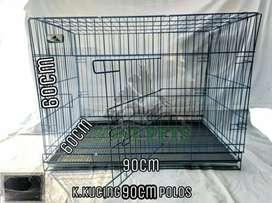 Kandang untuk kucing ukuran 90cm polos
