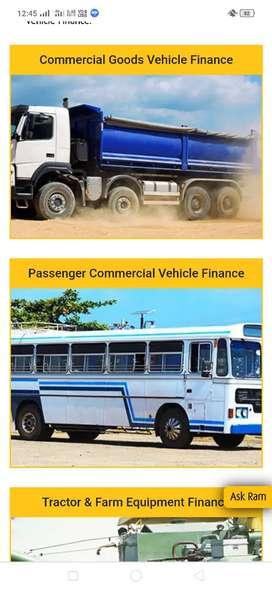 Tata Ace, Bolero, Auto , Tractor and Farm equipment Refinance in Angul