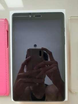 Jual Samsung Tab A8 Black Fullset Like New Bandung