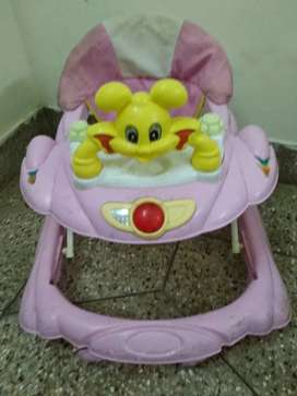 Walker for kids in very good and running condition.