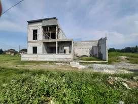 Rumah 2 lantai di kaplingan