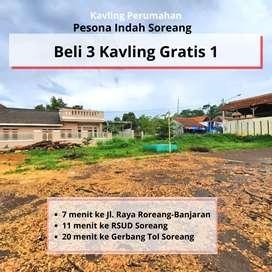 Tanah Murah Bandung Dekat RSUD Soreang, Beli 3 Kaving Gratis 1