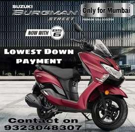 New Suzuki Burgman BS6 available on EMI
