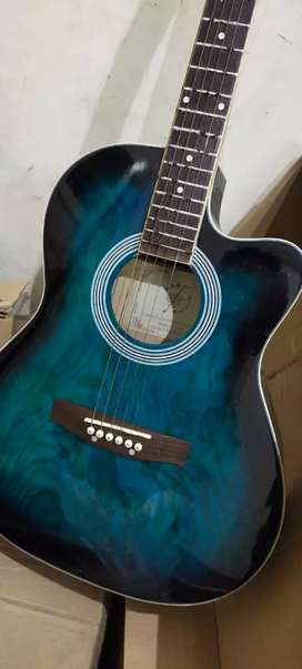 Original 4 color 40 inch large size guitar full package