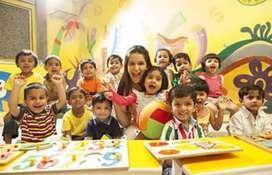 Nursery to Class 2nd Teaching Job