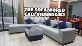 Buy now L shape longer sofa set with table