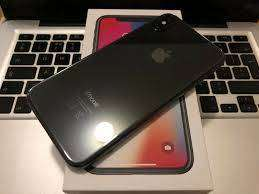 Apple I phone x (256)  free delivery