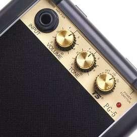 Amplifier Mini Gitar Elektrik Volume Tone Control 5W - PG-5