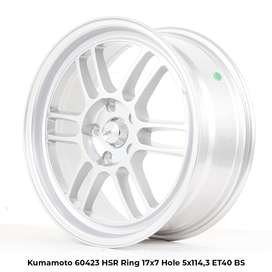 KUMAMOTO HSR RING 16 HOLE5X114,3 SILVER