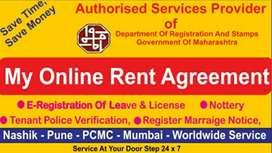Registered Rent Agreement Services