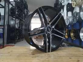 For sale velg HSR NE5 ring17 pcd8x100/114,3 for avanza mobilio dll