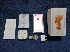 iPhone 6S 64gb rosegold LIKE NEW !!