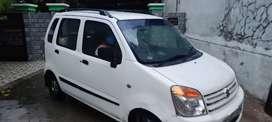 Maruti Wagon R LXI White (Petrol + LPG) 2009