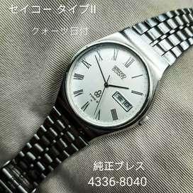 Jam tangan seiko type ii 2 quartz vintage jadul sq sport